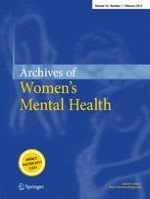 Archives of Women's Mental Health 1/2013