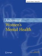 Archives of Women's Mental Health 1/2017