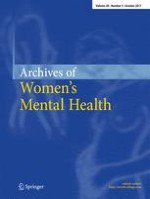 Archives of Women's Mental Health 5/2017