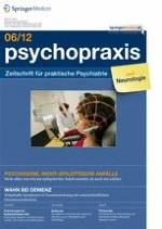 psychopraxis. neuropraxis 6/2012