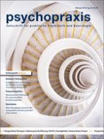 psychopraxis. neuropraxis 1/2013