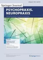 psychopraxis. neuropraxis 2/2019