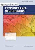 psychopraxis. neuropraxis 5/2019