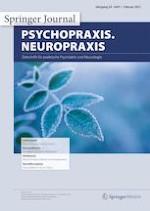 psychopraxis. neuropraxis 1/2021