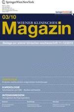 Wiener klinisches Magazin 3/2010