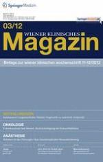 Wiener klinisches Magazin 3/2012