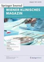 Wiener klinisches Magazin 3/2018