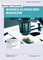 Wiener klinisches Magazin 4/2018