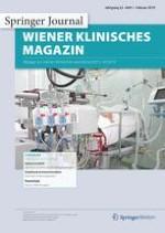 Wiener klinisches Magazin 1/2019