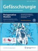 Gefässchirurgie 1/2013