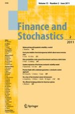 Finance and Stochastics 2/2011
