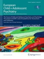 European Child & Adolescent Psychiatry 1/2013