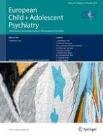 European Child & Adolescent Psychiatry 12/2014