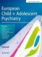 European Child & Adolescent Psychiatry 4/2016