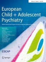 European Child & Adolescent Psychiatry 7/2016
