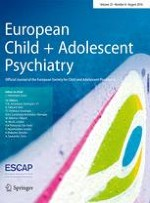 European Child & Adolescent Psychiatry 8/2016