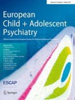 European Child & Adolescent Psychiatry 3/2017