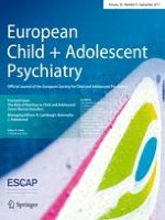 European Child & Adolescent Psychiatry 9/2017