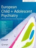 European Child & Adolescent Psychiatry 10/2018