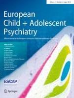 European Child & Adolescent Psychiatry 8/2018