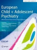 European Child & Adolescent Psychiatry 9/2018