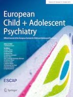 European Child & Adolescent Psychiatry 10/2019