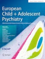 European Child & Adolescent Psychiatry 9/2019