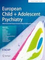 European Child & Adolescent Psychiatry 7/2020
