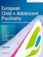 European Child & Adolescent Psychiatry 8/2021