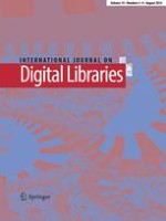 International Journal on Digital Libraries 3-4/2014