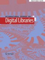 International Journal on Digital Libraries 2/2015