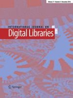 International Journal on Digital Libraries 4/2016