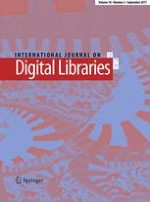 International Journal on Digital Libraries 3/2017