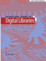 International Journal on Digital Libraries 4/2018
