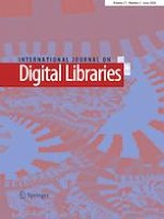 International Journal on Digital Libraries 2/2020