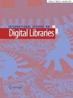 International Journal on Digital Libraries 3/2020