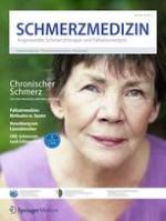 Schmerzmedizin 4/2018