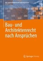 Bau- und Architektenrecht nach Ansprüchen