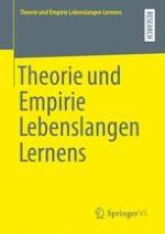 Theorie und Empirie Lebenslangen Lernens