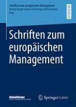 Schriften zum europäischen Management