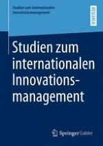 Studien zum internationalen Innovationsmanagement