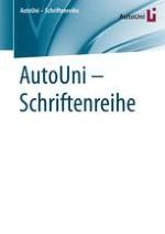 AutoUni – Schriftenreihe