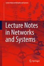 Lecture Notes in Networks and Systems