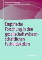 Empirische Forschung in den gesellschaftswissenschaftlichen Fachdidaktiken