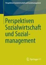 Perspektiven Sozialwirtschaft und Sozialmanagement