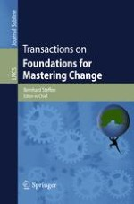 Transactions on Foundations for Mastering Change