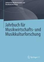 Jahrbuch für Musikwirtschafts- und Musikkulturforschung