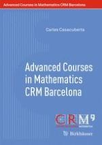Advanced Courses in Mathematics - CRM Barcelona