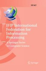 IFIP Advances in Information and Communication Technology