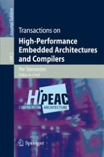 Transactions on High-Performance Embedded Architectures and Compilers